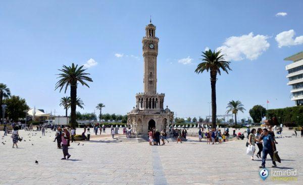 Измирская часовая башня Конак