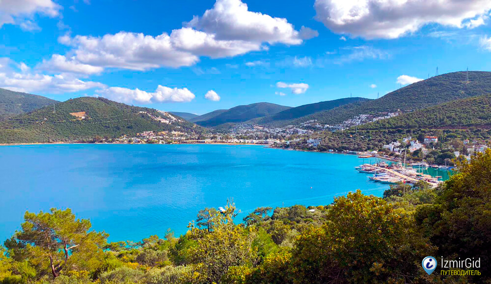 Бодрум - курорт на Эгейском побережье Турции