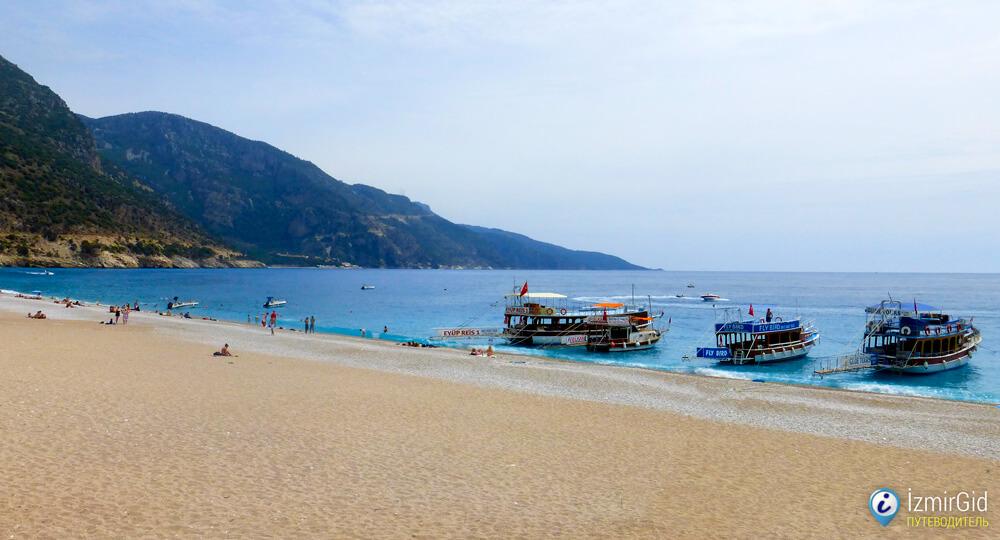 Море на Эгейском побережье Турции, Фетхие