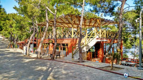 Парк на канатной дороге в Измире