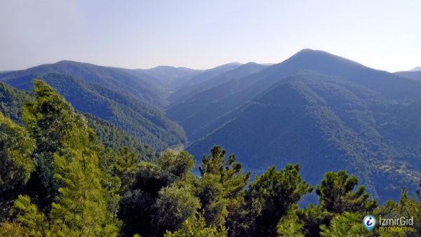 Горы канатная дорога в Измире