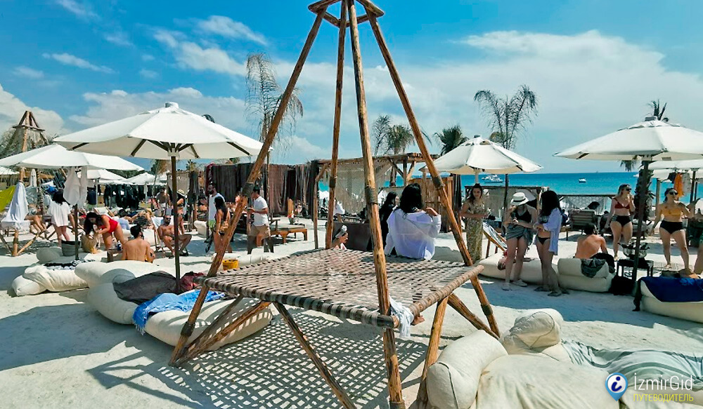 Пляжный клуб «Boheme Beach Club», Оваджык, Чешме
