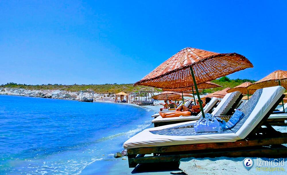 Пляжный клуб «Madeo Beach», Алачаты