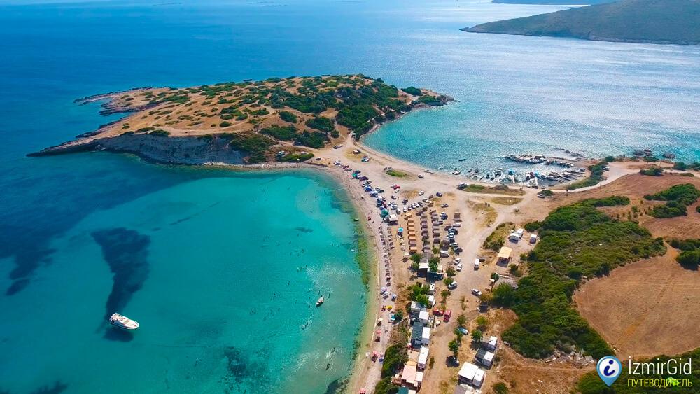 Пляжи в Урле, Измир
