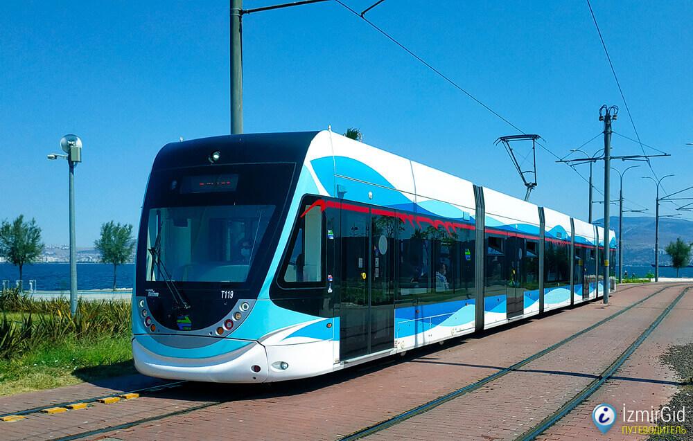 Общественный транспорт в Измире, трамвай