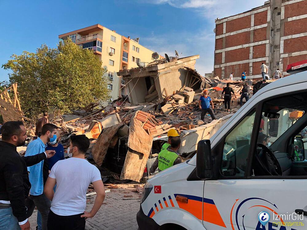 Землетрясение в Измире, 30 октября 2020