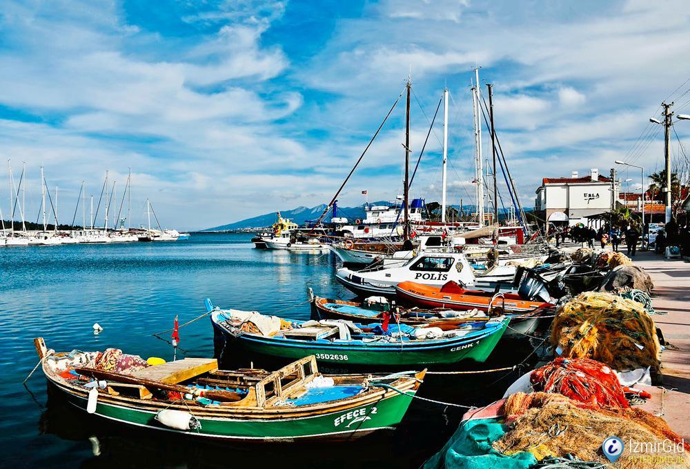 Пристань в Урле, Измир