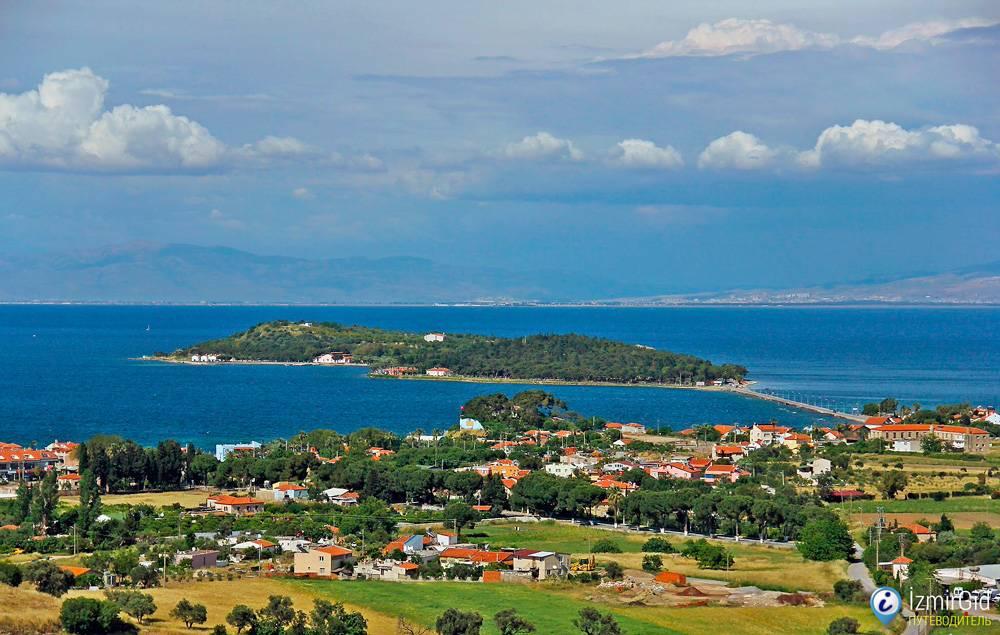 Карантинный остров в Урле, Измир