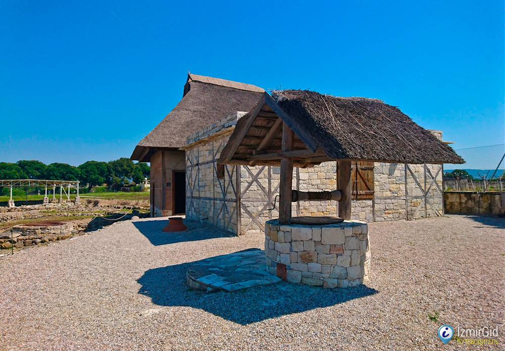 Античный город Клазомены (Klazomenai), Урла