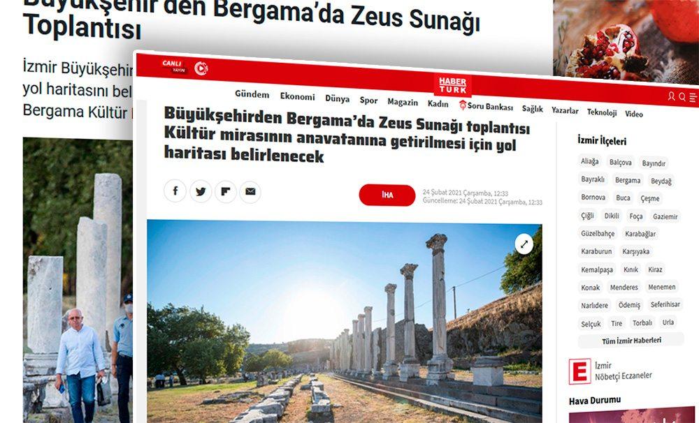 Новость: пергамский алтарь вернется в Бергаму, Измир