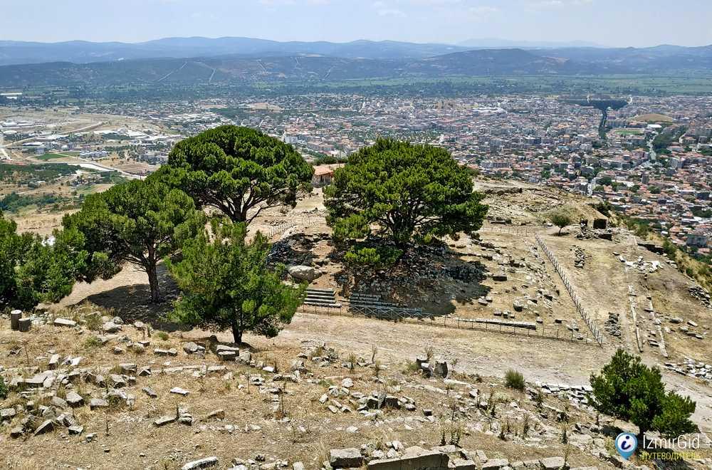 Место, где находился алтарь Зевса в Пергаме