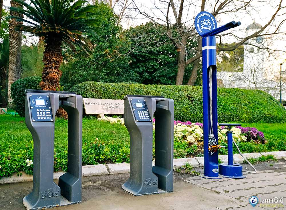 Место для обслуживания велосипедов Bisim