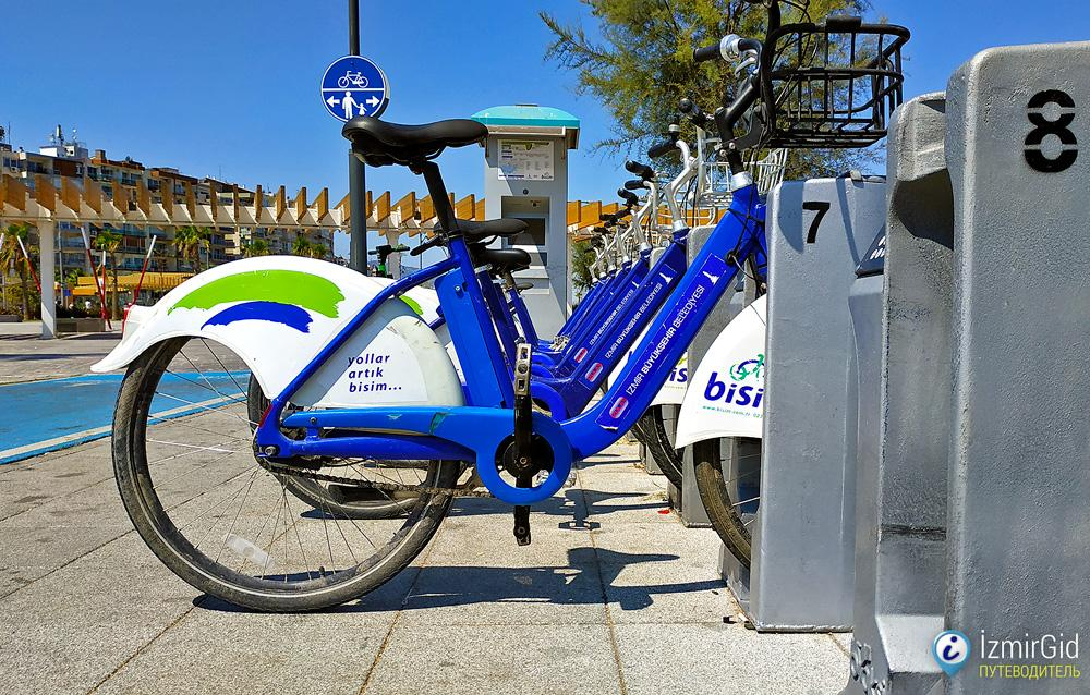 Велосипедная станция Bisim в Измире
