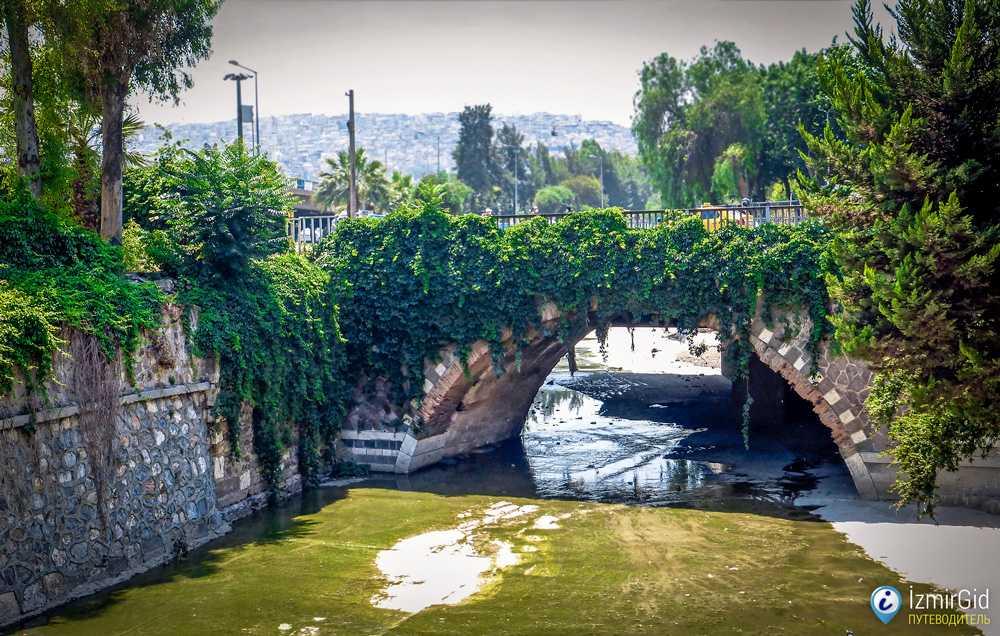 Караванный мост в Измире, Басмане