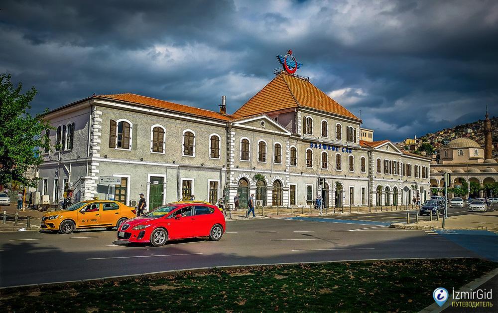 Железнодорожный вокзал Басмане, Измир