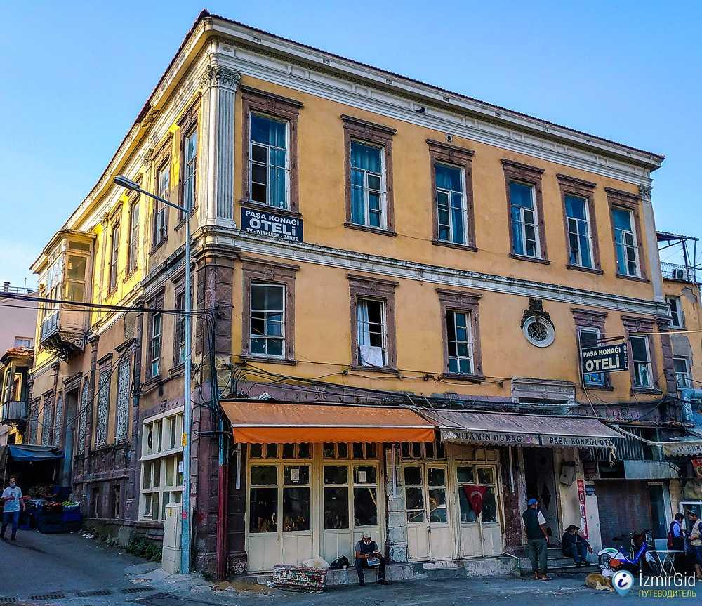 Paşa Konağı Oteli, район Басмане, Измир